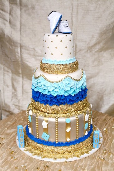 Royal Prince Baby Shower cake idea