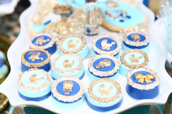 Royal Prince Baby Shower cookies