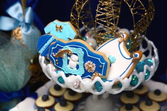 Royal Prince Baby Shower cookies ideas