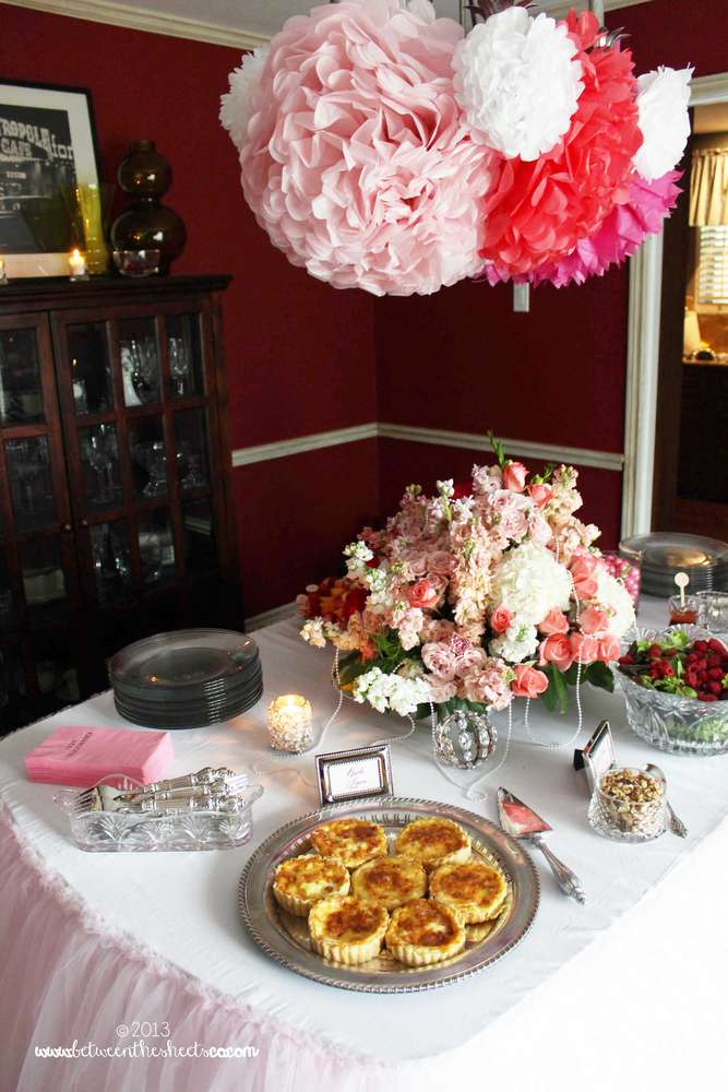 Tiffany Pink Baby Shower Baby Shower Ideas Themes Games