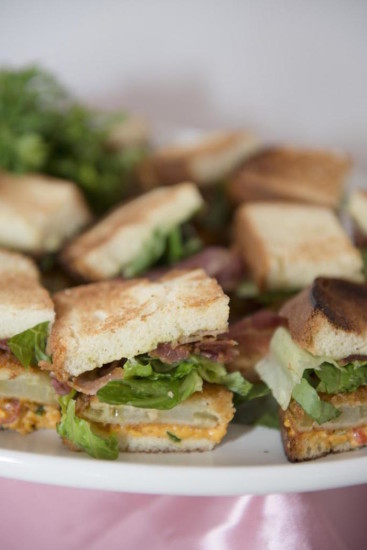baby shower food ideas, sandwiches