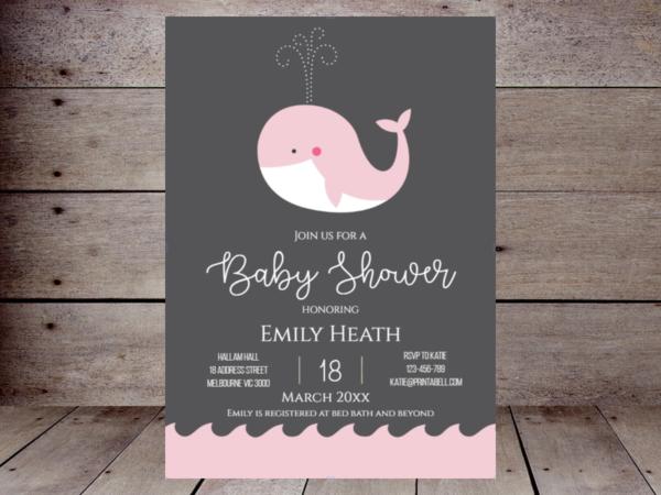 editable-pink-whale-invite