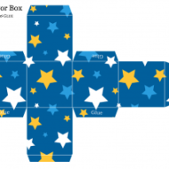 free baby shower favor boxes