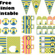 Free Minion baby shower Printable