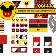 Free Mickey Mouse Baby Shower Printable