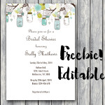 FREE Editable Baby Shower Invitation