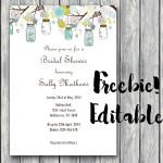 FREE Editable Baby Shower Invitation