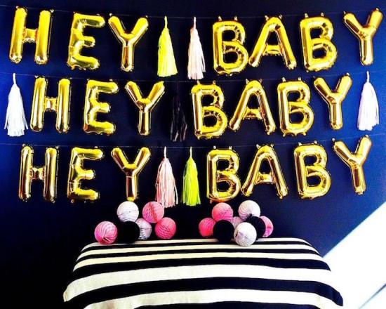 hey baby hey baby baby shower