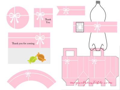 tiffany-pink-party-printable-tiffany-pink-baby-shower-printable-tiffany-pink-bridal-shower-package