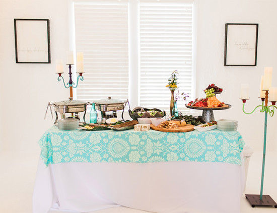 Bohemian Baby Shower food ideas