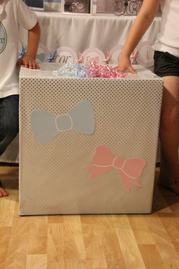 Little Man or Little Lady Gender Reveal box