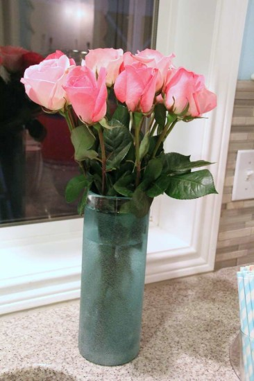 Little Man or Little Lady Gender Reveal flower