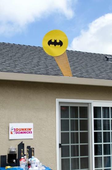 batman baby shower light
