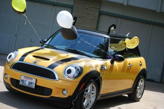 car decoration bumble bee