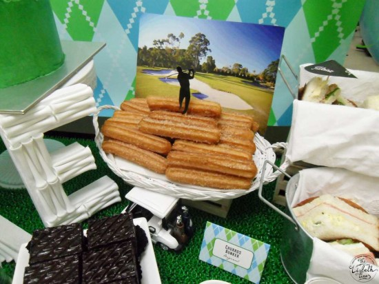 First Masters Tournament baby shower food ideas