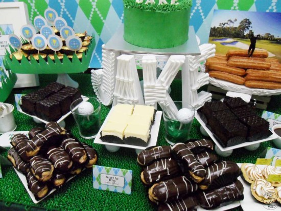 First Masters Tournament baby shower ideas
