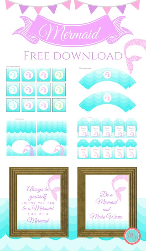 free-mermaid-party-printable-instant-download-baby-shower-500x857