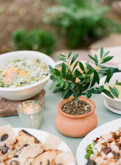 Garden Baby Shower food
