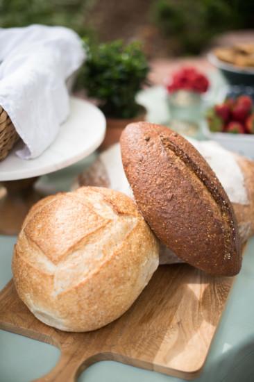 Garden Baby Shower food ideas, bread