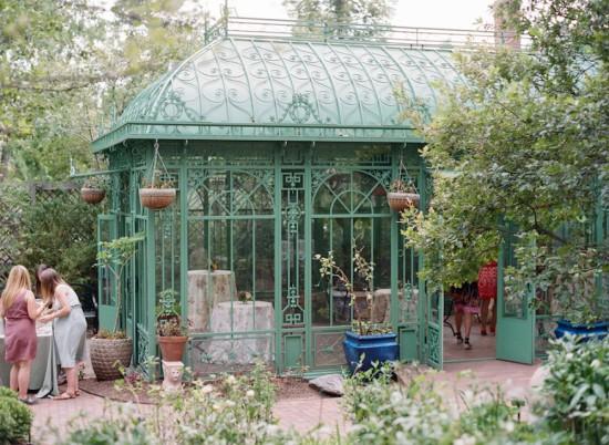 Garden Baby Shower greenhouse