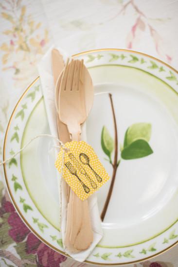 Garden Baby Shower tableware plates