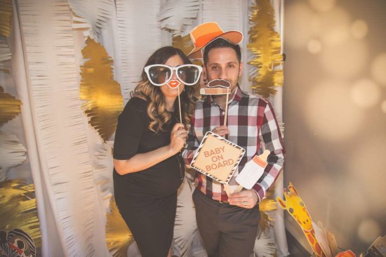King of the Jungle Baby Shower photo booth