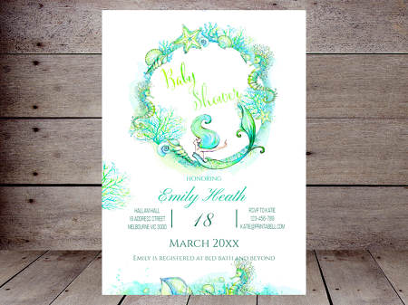 editable-mermaid-baby-shower-invitation
