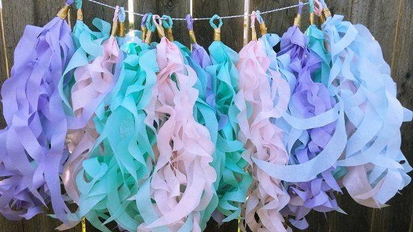 mermaid tassels