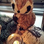 Wintery Woodland Animal Baby Shower