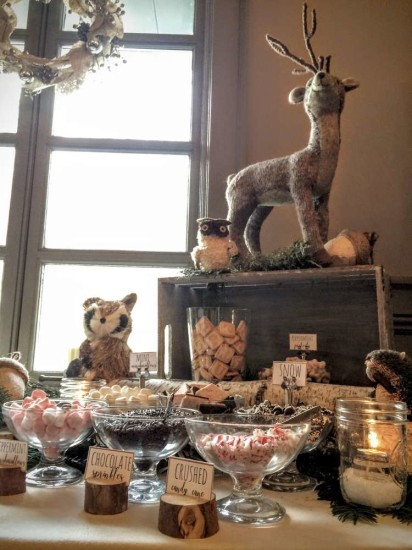 wintery-woodland-animal-baby-shower-food-table