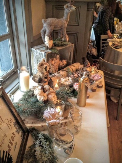 wintery-woodland-animal-baby-shower-food-table-decor