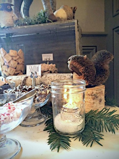 wintery-woodland-animal-baby-shower-food-table-ideas-decor