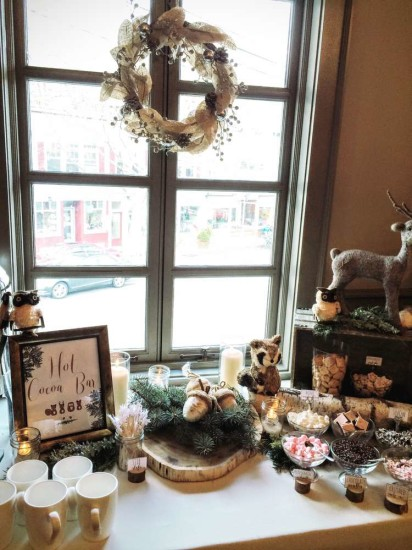 wintery-woodland-animal-baby-shower-hot-cocoa-bar-idea