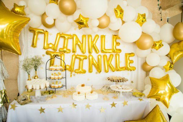 twinkle-twinkle-balloon-garland