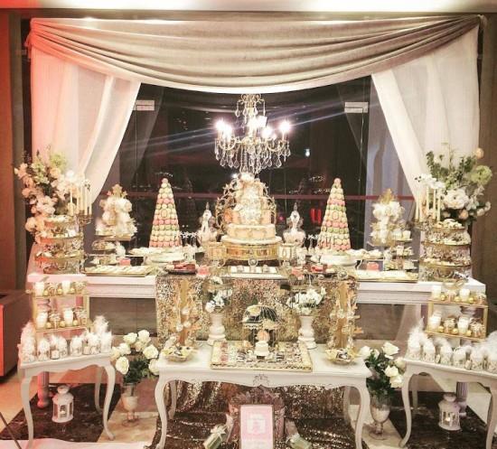 princess royal baby shower