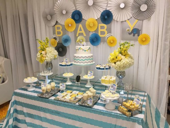 Baby-Shower-Elephants-Dessert-Table
