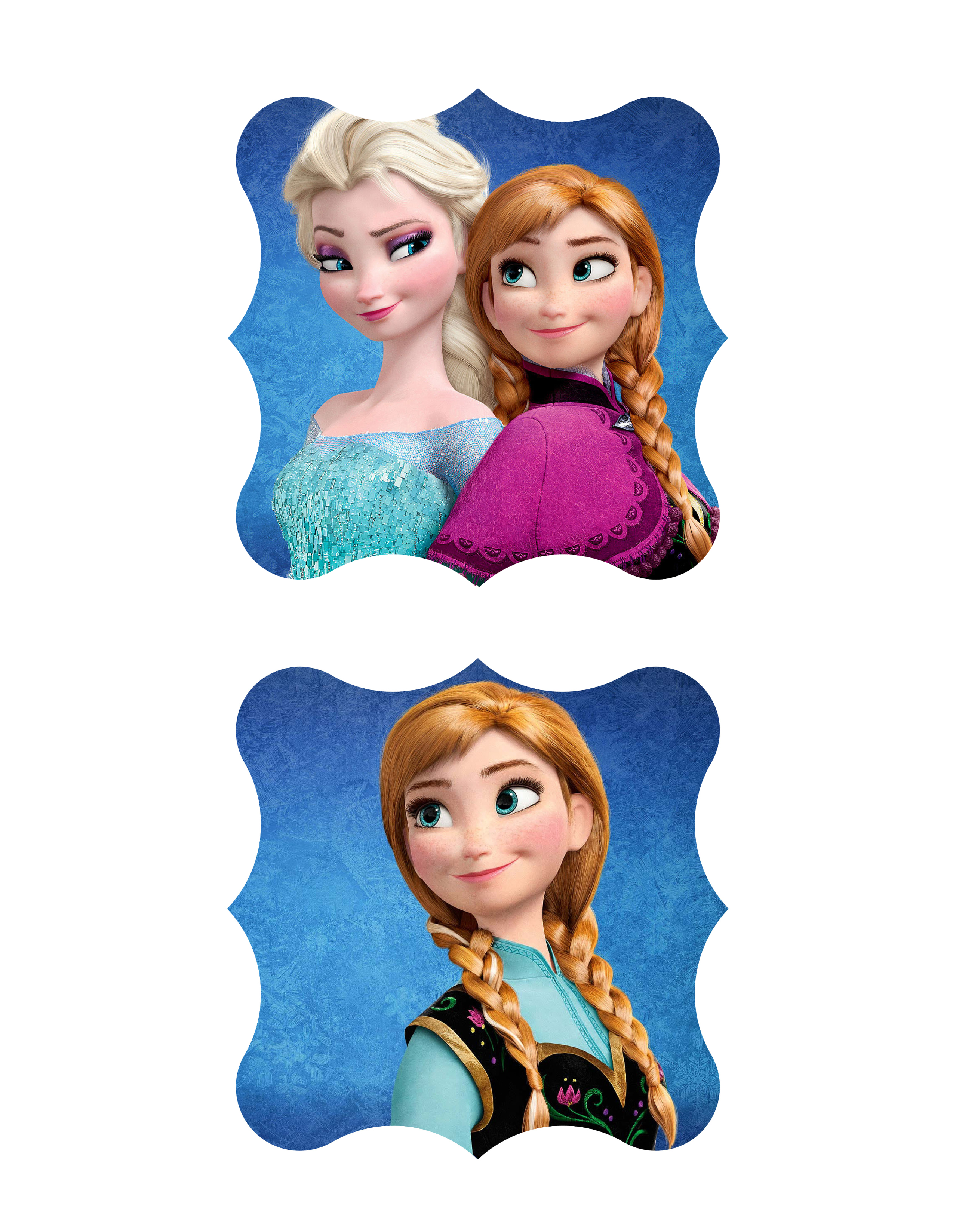 Free Disney S Frozen Printable Baby Shower Ideas