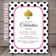 free-editable-kate-spade-baby-shower-birthday-party-invitation-polka-dots
