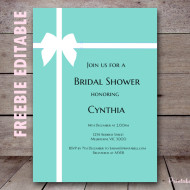 FREE Editable Invitations (exclusive) - Baby Shower Ideas