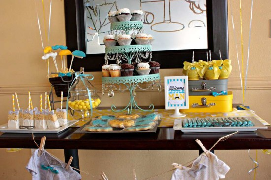 little-man-baby-shower-dessert-table