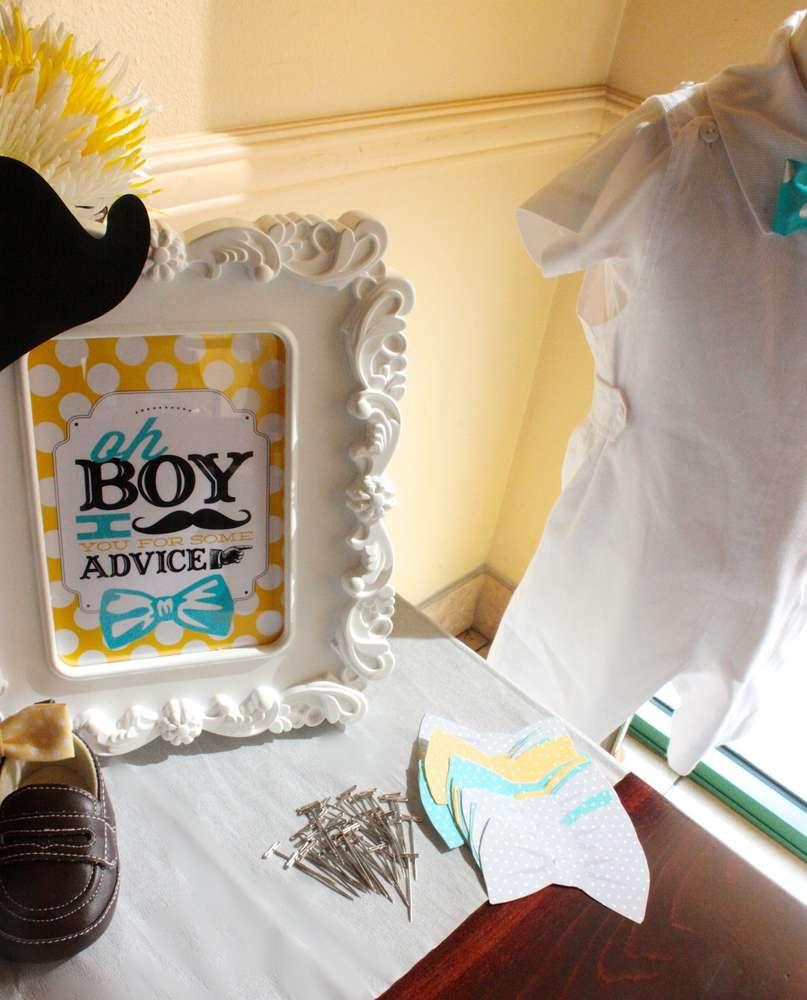 Little Man Baby Shower Baby Shower Ideas 4U