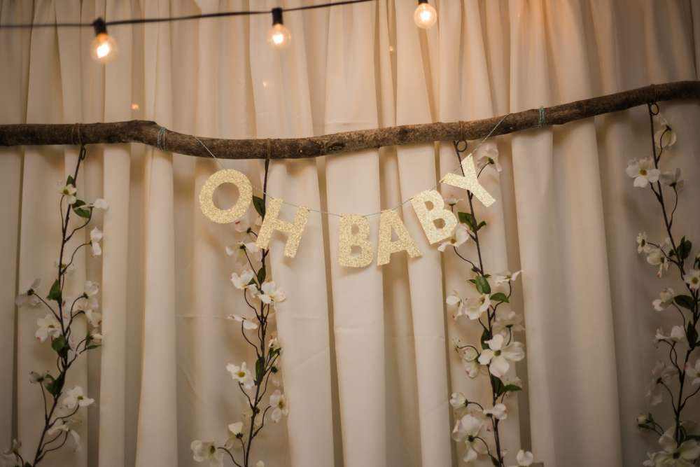 woodsy boho baby shower - baby shower ideas - themes
