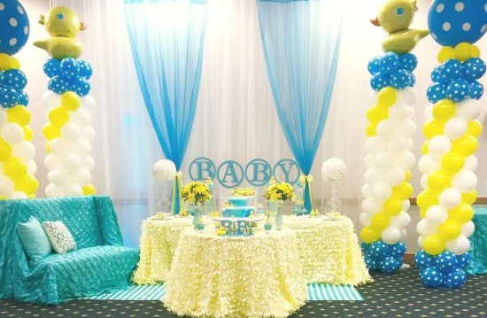 rubber-ducky-baby-shower-decoration ideas