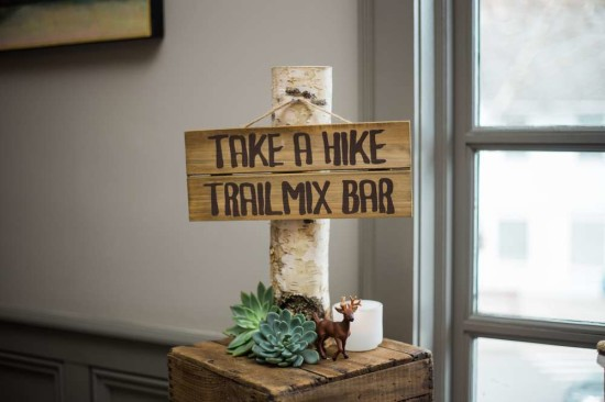 take a trail mix