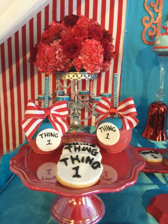 Thing 1 and Thing 2 Baby Shower Baby Shower Ideas