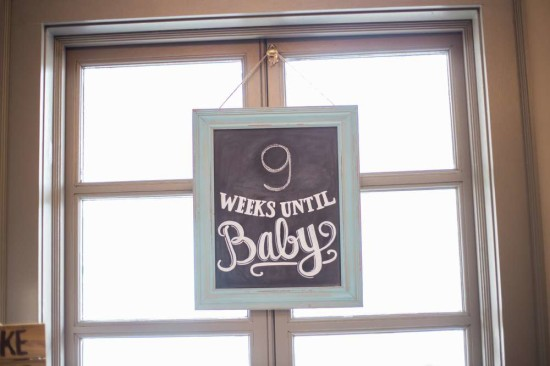weeks until baby sign