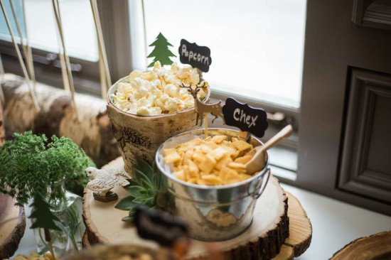 woodland baby shower food and snack ideas