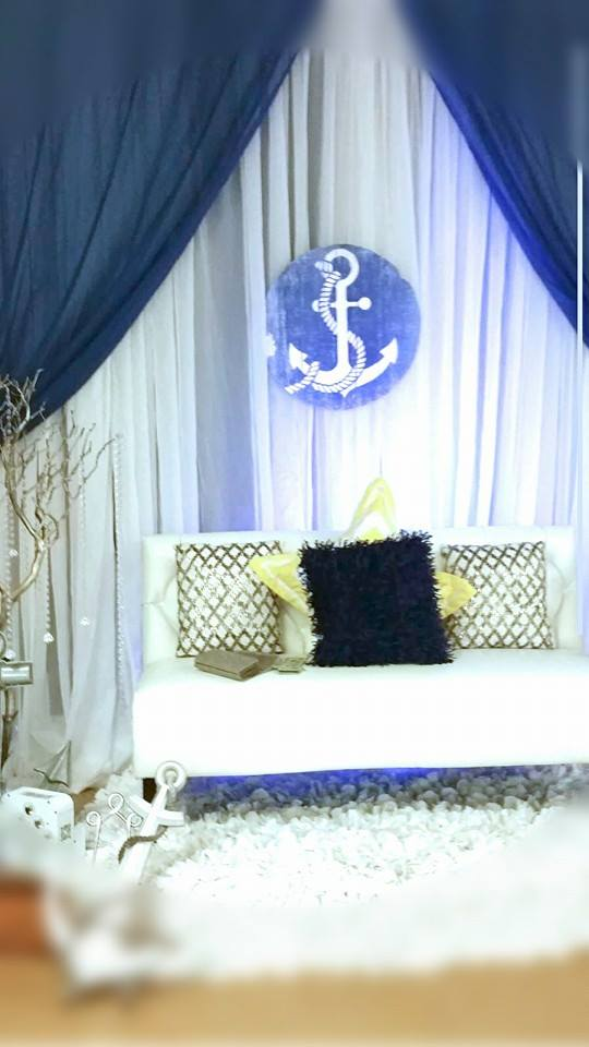 Blue-and-White-Nautical-Baby-Shower-Anchor-Seating