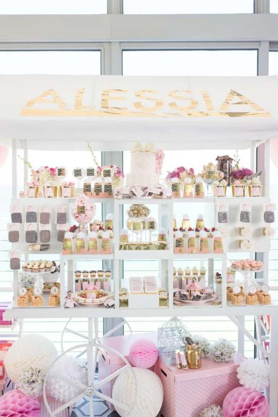 Elegant-Pastel-French-Patisserie-Baby-Shower-Dessert-Table