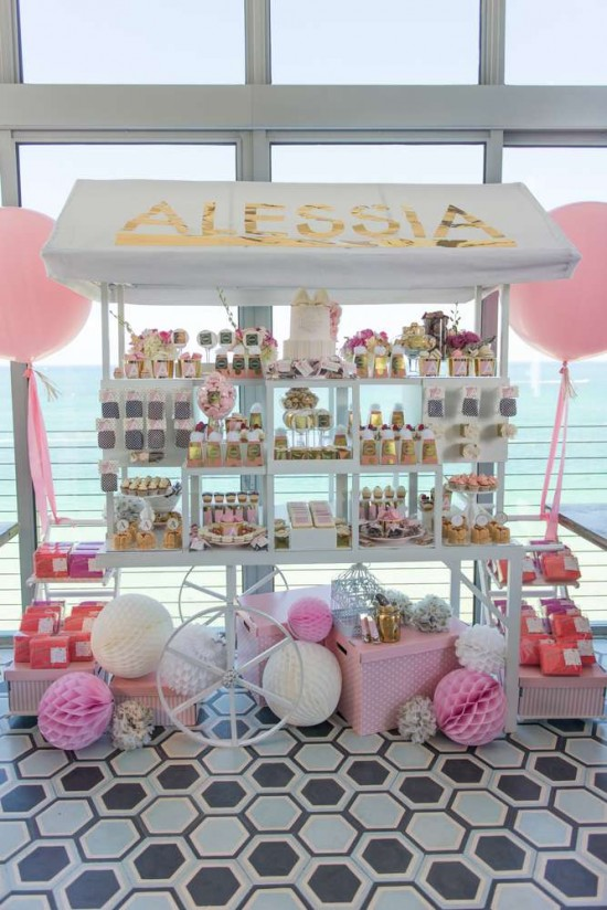 Elegant-Pastel-French-Patisserie-Baby-Shower-Treat-Table